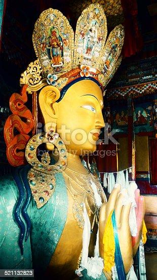 istock Maitreya buddha 521132823