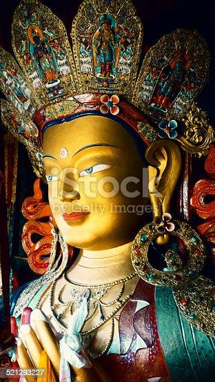 istock Maitreya buddha 521293227