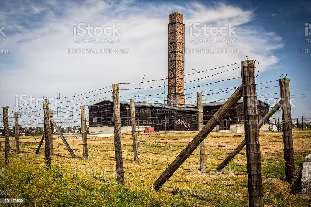 Majdanek concentration camp, Poland stock photo