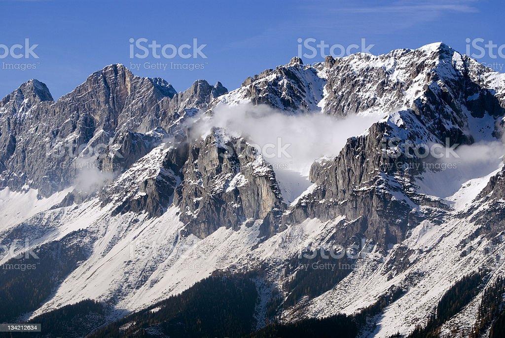 Majestic Alps royalty-free stock photo