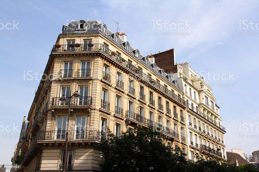 Majestic Apartments royalty-free stock photo