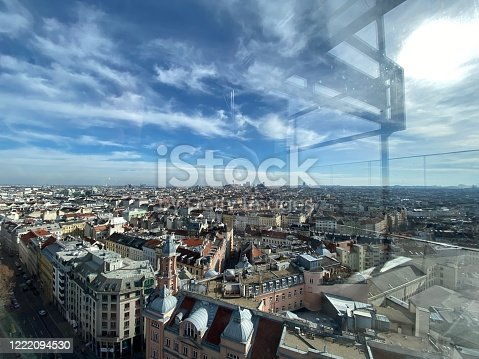View of an amazing architecture of Vienna during day