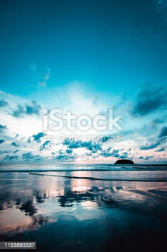 Majestic Beach Near Maya Bay at Phuket, Thailand