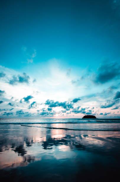 Majestic Beach Near Maya Bay at Phuket, Thailand stock photo