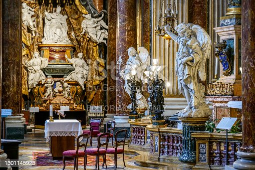 istock A majestic chapel inside the church of St. Ignatius of Loyola in downtown Rome 1301145923
