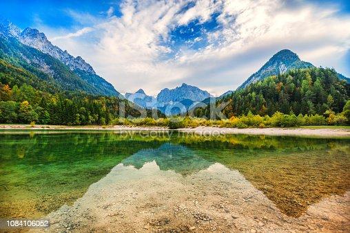 Majestic Clean Lake In Switzerland