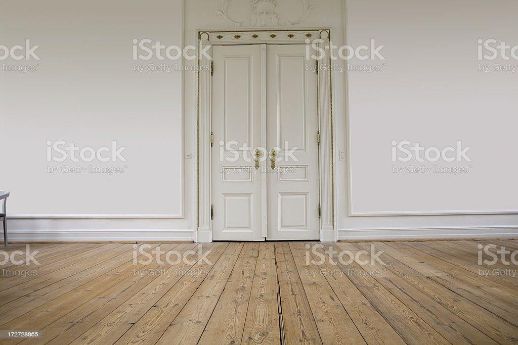 Majestic door stock photo
