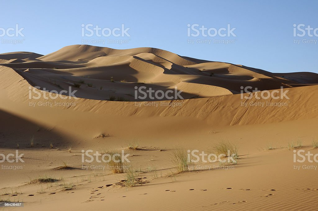 Majestic dune formation royalty-free stock photo