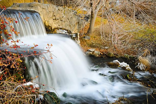 Majestic Falls stock photo