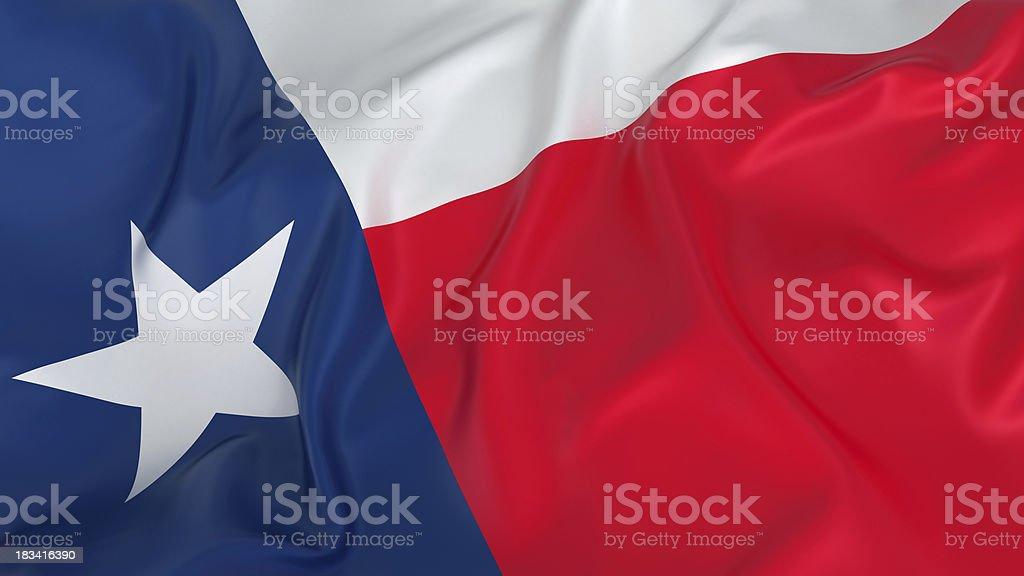 Majestuoso bandera de Texas - foto de stock