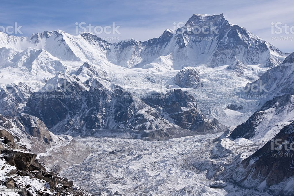 Majestic Himalayas royalty-free stock photo