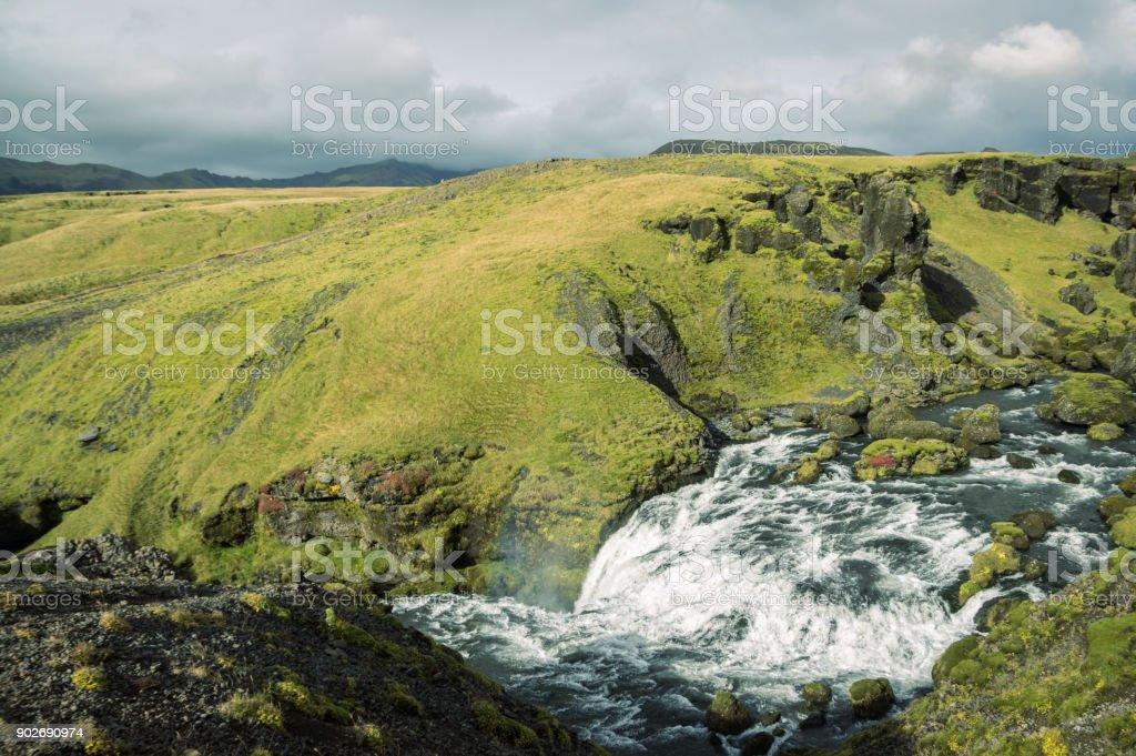 Majestic Iceland View stock photo