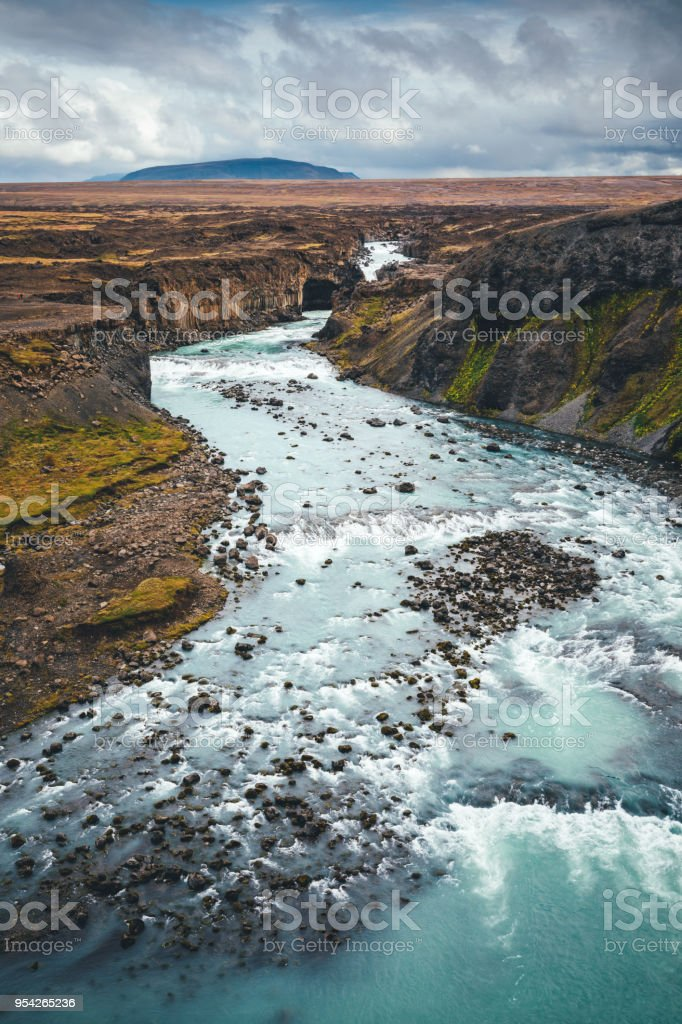 Majestic Landscape In Iceland stock photo