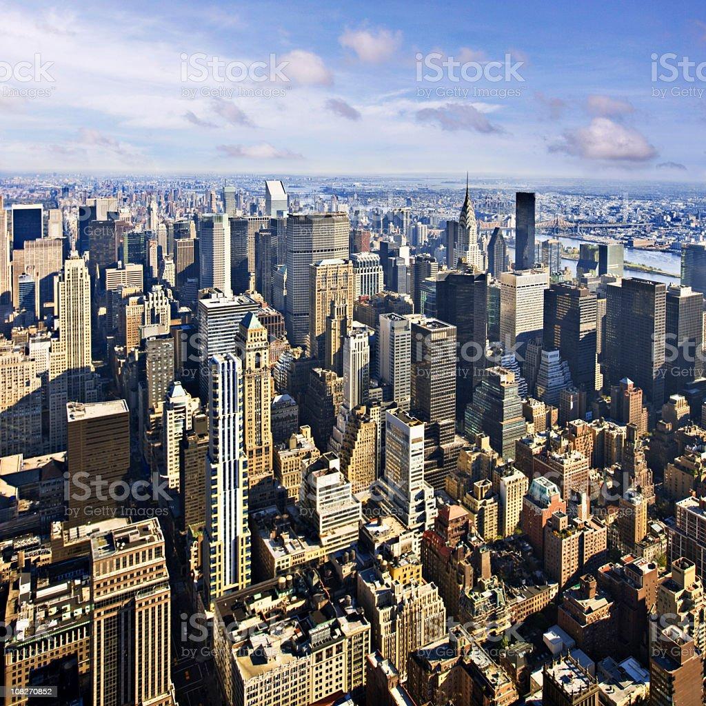 Majestic NY royalty-free stock photo