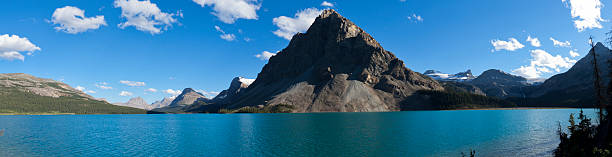 majestic - british columbia glacier national park stock pictures, royalty-free photos & images