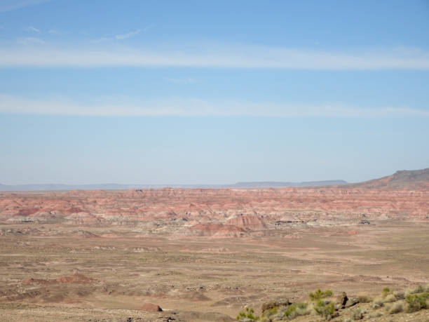 Majestic shot of the Painted Desert stock photo