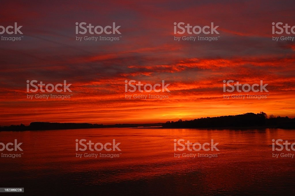 Majestic sky royalty-free stock photo