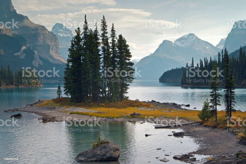 majestic Spirit Island royalty-free stock photo