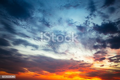 516351793 istock photo Majestic Storm Clouds 522003080