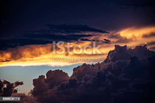 516351793 istock photo Majestic Storm Clouds 896608174