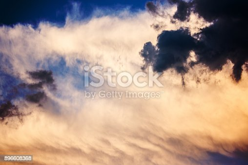516351793 istock photo Majestic Storm Clouds 896608368