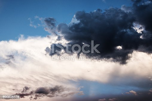 516351793 istock photo Majestic Storm Clouds 896608578