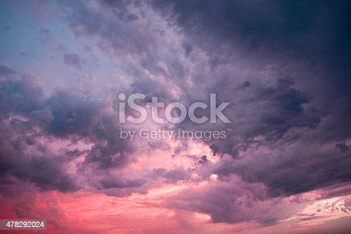 516351793 istock photo Majestic stormy clouds. 478292024