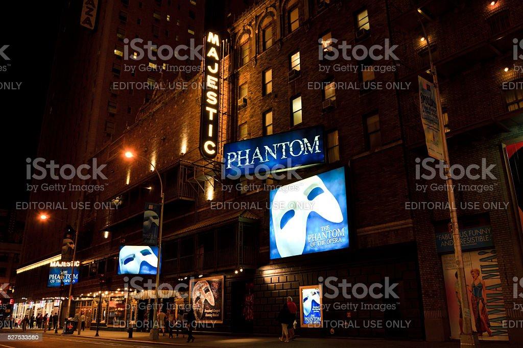 Majestic Theatre stock photo