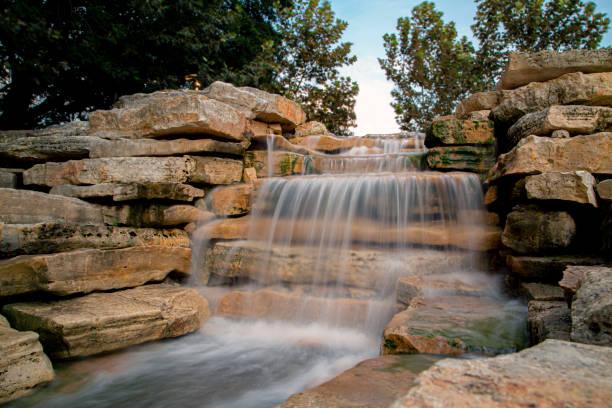 Majestic Waterfall stock photo