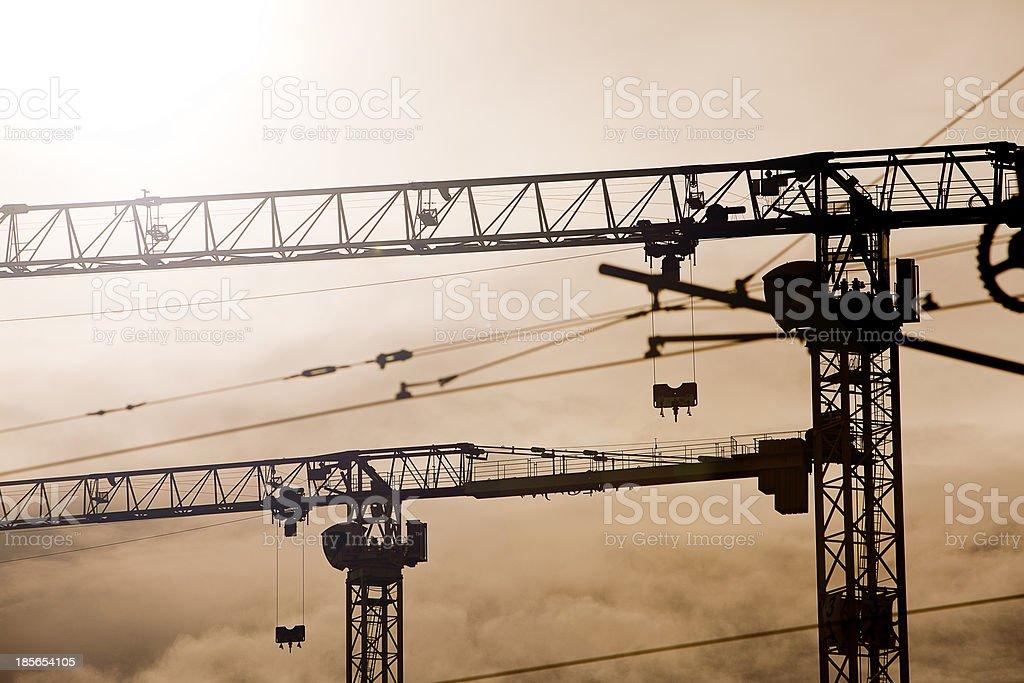 Major Construction Site royalty-free stock photo