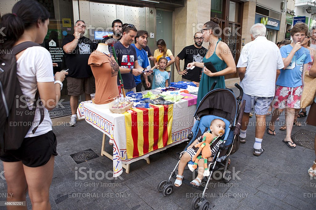 Major Festival of Sitges royalty-free stock photo