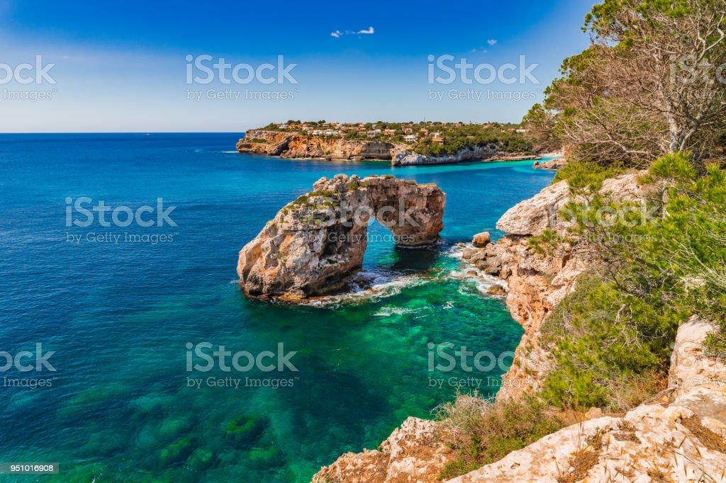 Spain Mediterranean Sea, beautiful view of the natural landmark Es...