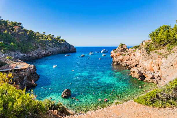 Majorque Espagne, superbe plage baie de Cala Deia, îles Baléares - Photo