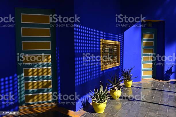 Jardin Majorelle Marrakech Morocco Africa Stock Photo - Download Image Now