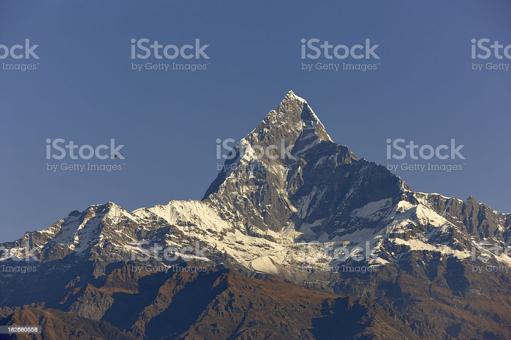 Makalu. Everest Circuit. Nepal motives. royalty-free stock photo