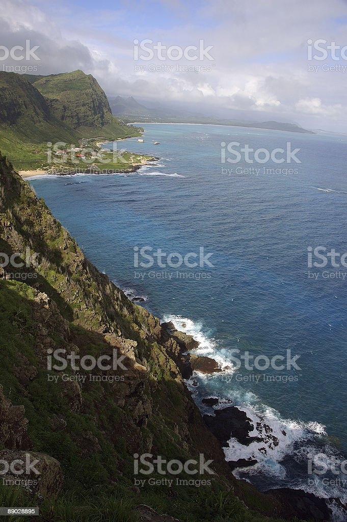 Makap'u, Hawai'i royalty-free stock photo