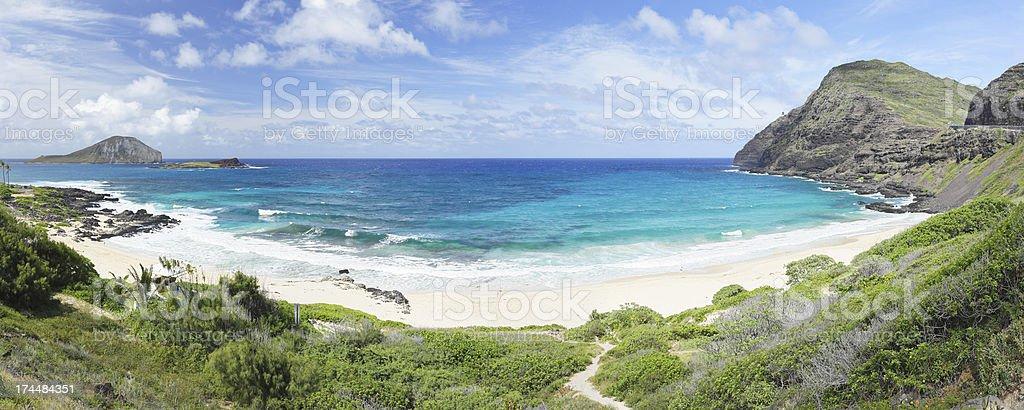 Makapu'u Beach - Hawaii royalty-free stock photo