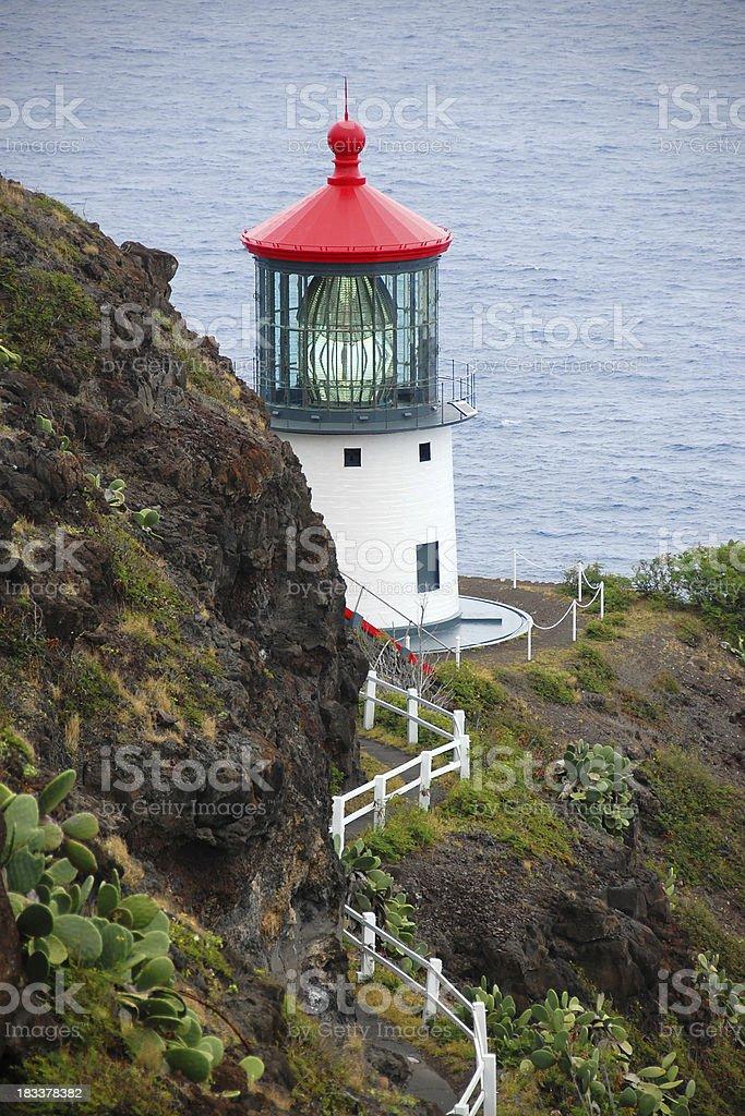 Makapu'u Point Lighthouse stock photo