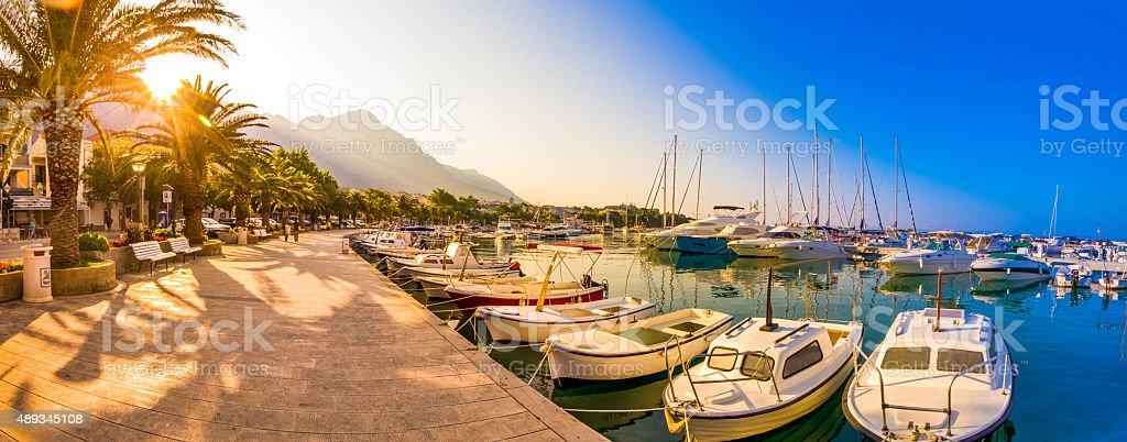 Makarska Riviera Croatia stock photo