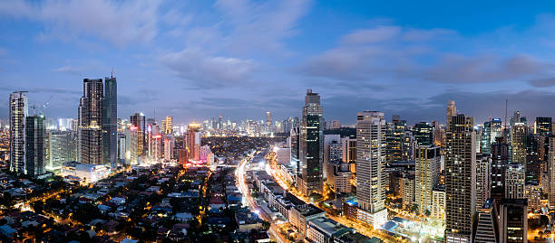 Royalty free manila philippines pictures images and stock photos makati skyline metro manila philippines stock photo sciox Image collections