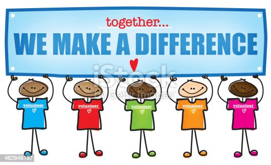 Make A Difference Volunteer Stock Photo & More Pictures of ...