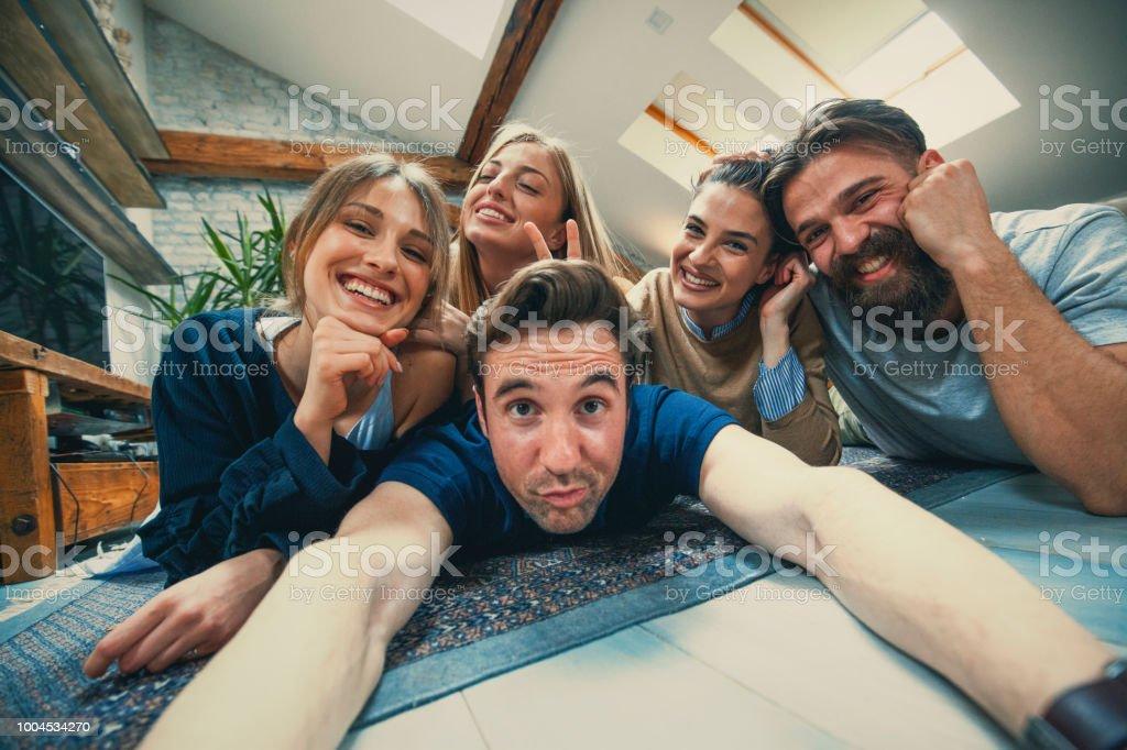 Make a face stock photo