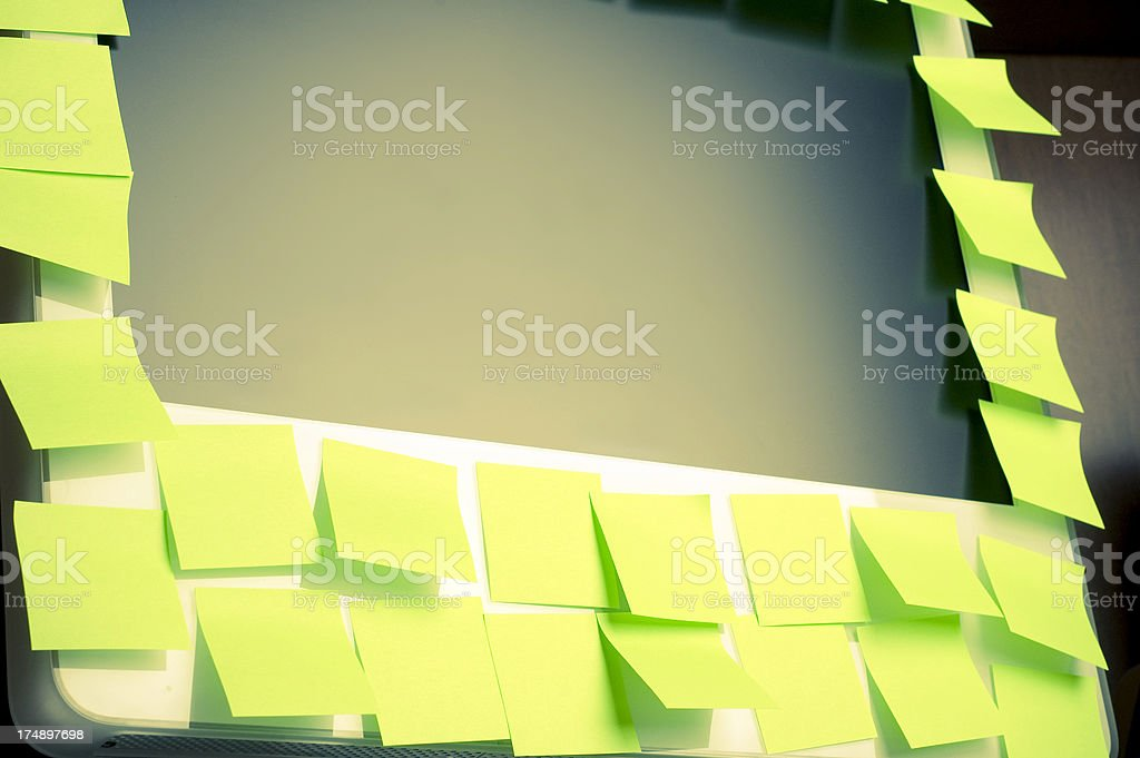 make a note of it royalty-free stock photo