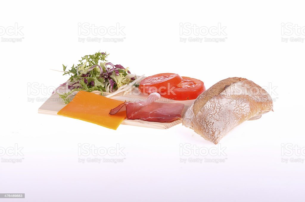 make a sandwich royalty-free stock photo