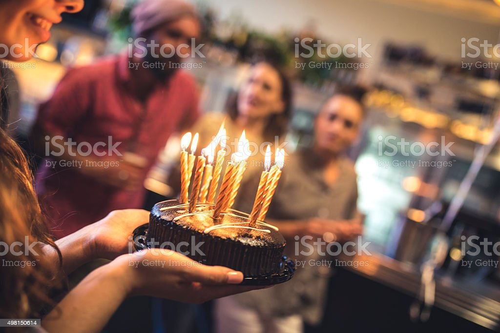 Make a wish! stock photo