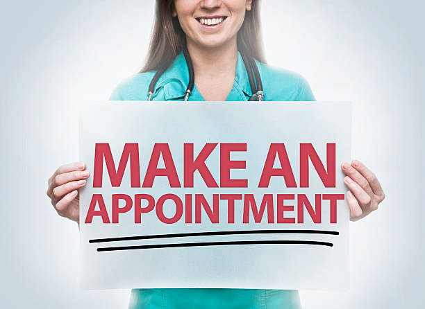 make an appointment / healthcare concept (click for more) - screening stock photos and pictures