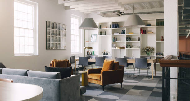 Make collaborations easier with an open plan office