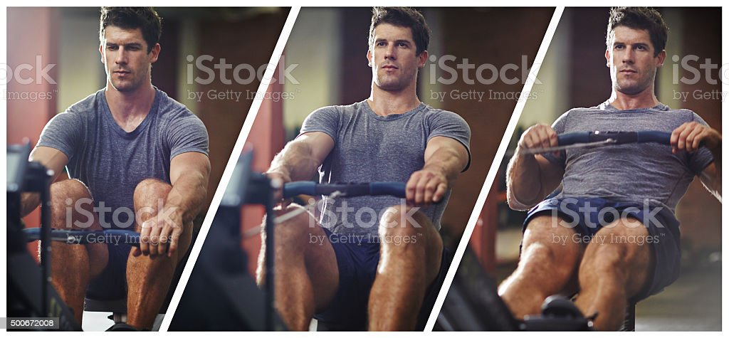 Make every workout count! stock photo