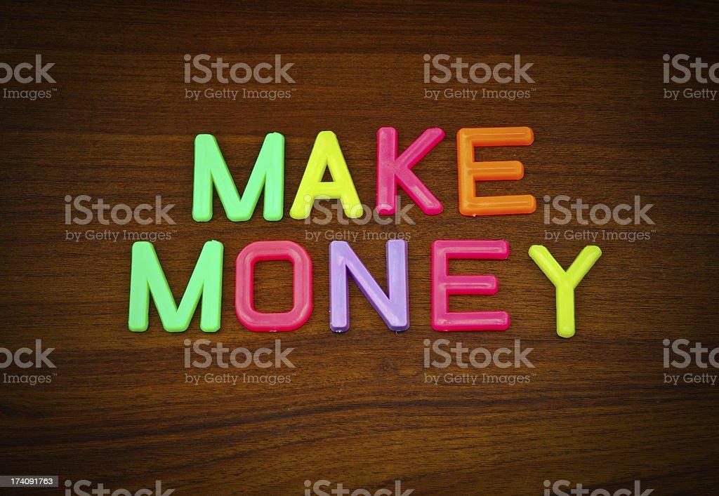 Ganar Fondo En Las Letras Juguete De Colorido Dinero El Madera tQrdCshxBo