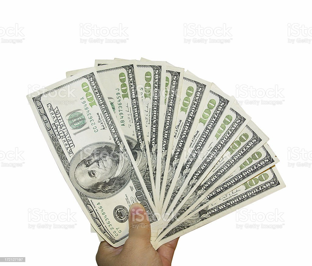 Make money now stock photo